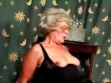 This naughty aged chick loves to feel hard cock inside her old cunt.