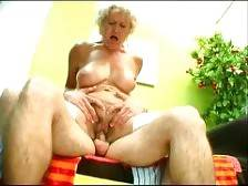 Granny Francesca still has it and shes never shy to show it off for the camera. We let her expose her naughty side and pair her with a younger guy and as you can see the guy got his eye locked up at her knockers while he stuffs his dick into her box