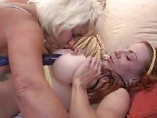 Seductive lesbian matures Shannon Kelly and Dana Hayes go wild in this sex scene. Check out these experienced ladies as they take turns in pleasing each other by groping tits, eating each others pussies and fingering each other till they explode in. Shann