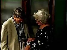 Who would ever think that little old Mrs. Jones had a penchant for young hot guys? This granny invites teen hunks over to her house and once they are inside, she seduces them by slowly stroking their cocks and then sucking them into her wet hungry mo. Mrs