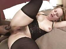 Fat granny Magda leans against the wall and got her pussy doggy fucked by her well hung friend. Check out this blonde beauty as she gets her anal injected with a thick schlong. Her buddy is drilling his monster black cock in and out of her experience
